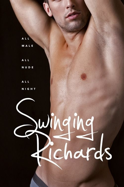 swinging richards David Magazine ad